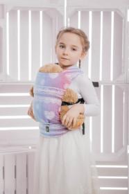 Marsupiu de jucarie pentru copii, Lennylamb, Rainbow Lace
