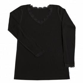 Bluză femei Joha lână merinos si mătase - Kate Black