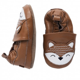 Botosei din piele pentru interior -Fox, Melton