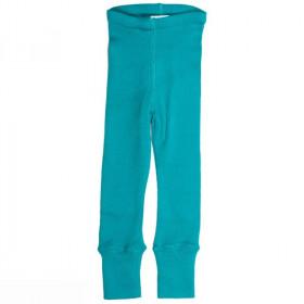 Colanti ManyMonths lână merinos - Royal Turquoise, marime 8-10 ani