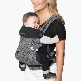 Ergobaby Carrier 4 pozitii 360 - KEITH HARING BLACK