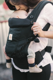 ERGOBABY Carrier Original Adapt BLACK  - 0 LUNI+