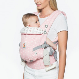 ERGOBABY Carrier Original Adapt Hello Kitty - Play Time 0 luni+ (editie speciala)
