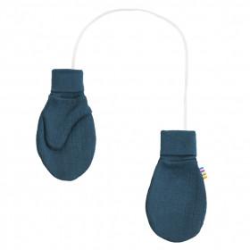 Manusi Joha din lana merinos - Petrol Blue