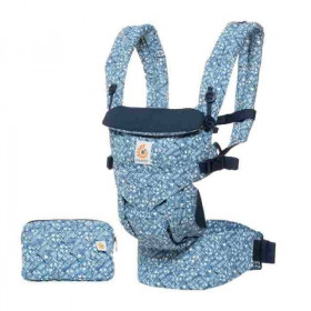 Marsupiu ergonomic,Ergobaby Omni 360, Batik Indigo