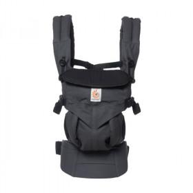 Marsupiu ergonomic, prtbebe , Ergobaby Omni 360, Charcoal