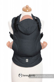 Marsupiu Ergonomic,Lenny Lamb Baby Size, Basic Line GALAXITE Full Wrap Conversion