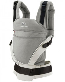 Marsupiu Ergonomic, Manduca XT, Grey-White