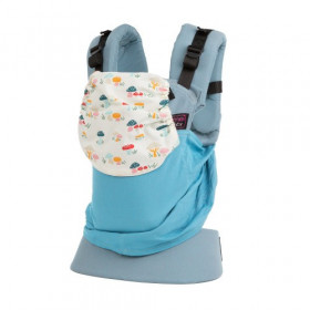 Marsupiu SSC Emeibaby, Baby Size -  - Limited Edition - Mushrooms Turquoise