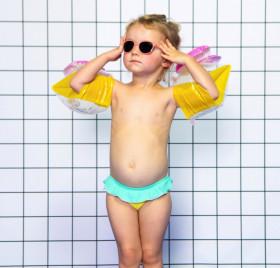 Ochelari de soare Ki ET LA, 1-2 ani - Wazz Grapefruit