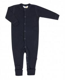 Overall/Pijama Joha lână merinos cu/fara sosete - Basic Navy