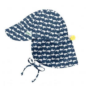 Palarie ajustabila Green Sprouts by iPlay SPF 50+ - Navy Whale Geo