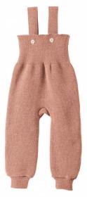 Pantaloni cu bretele lână merinos Disana - Rose