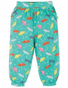 Pantaloni din bumbac organic - Pacific Aqua Parasols, Frugi
