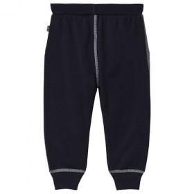 Pantaloni Joha din lână merinos - Damson Navy