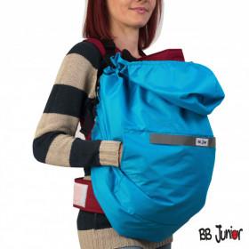 Protectie marsupiu 4 anotimpuri 3 in 1, BB Junior-albastru