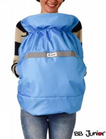 Protectie de iarna pentru marsupiu BB Junior- albastru