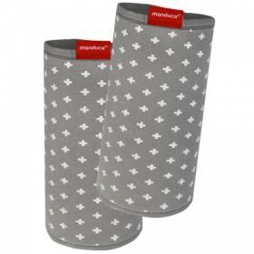 Protecții bretele - Manduca FumBee BellyButton WildCrosses Grey