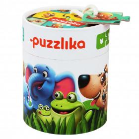 Puzzle 20 piese, Familia potrivita, Cubika