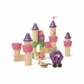 Set de construcție - Castelul prințeselor, Plan Toys