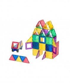 Set Playmags 50 De Piese Magnetice De Construcție