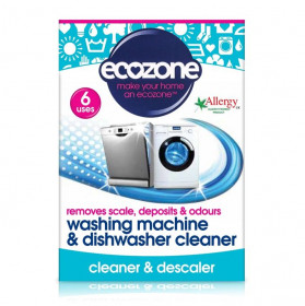 Tablete pt. curatarea masinii de spalat rufe si vase, Ecozone, 6 buc