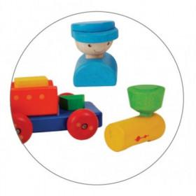 TRENULET PENTRU SORTAT, Plan Toys