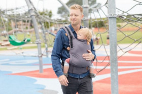 TULA Baby Carrier Free to Grow - STORMY