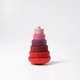 Turnulet jucaus pentru bebelusi, roz, Grimm's Spiel und Holz Design