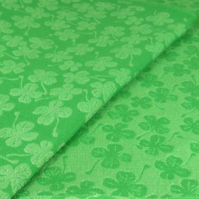 Wrap tesut DIDYMOS - Green Clover size 3 (3,2 m) (bumbac+canepa+matase)