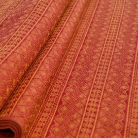 Wrap tesut, portbebe , Didymos Prima Ruby-Mandarin, size 6 (4,7 m)