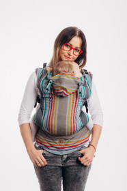 Marsupiu Ergonomic, LennyGo Baby size, Oasis