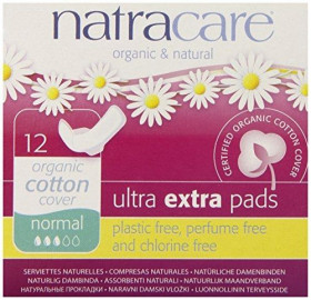 Absorbante Ultra Extra de noapte (3 picaturi) - normal, Natracare