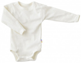 Body Joha din lână merinos - Basic White