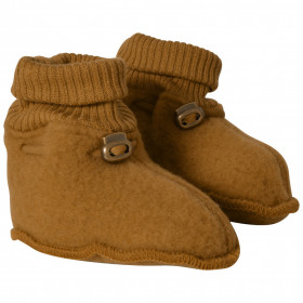 Botosei din lână merinos fleece Mikk-line - Golden Brown