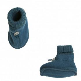 Botosei din lână merinos Joha - Petrol Blue