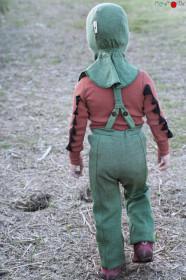 Cagulă ManyMonths lână merinos - Jade Green