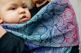 Cardigan lung/protectie babywearing pentru vreme rece, Lenny lamb - Paisley Kingdom