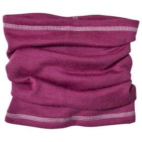 Esarfa (buff) dublata Joha din lână merinos -Damson Purple