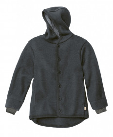 Jacheta Disana lână organica boiled wool - Anthracite