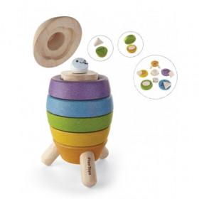 JUCARIE DE STIVUIT SI SORTAT IN FORMA DE RACHETA, Plan Toys
