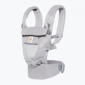 Marsupiu ergonomic,ERGOBABY Adapt COOL AIR MESH,PEARL GREY