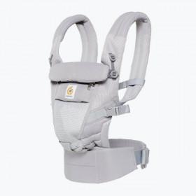 Marsupiu ergonomic,Ergobaby Adapt Cool Air Mesh, Pearl Grey