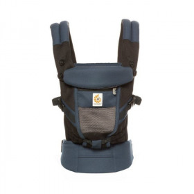 Marsupiu ergonomic, portbebe,  Ergobaby Adapt Cool Air Mesh, Raven