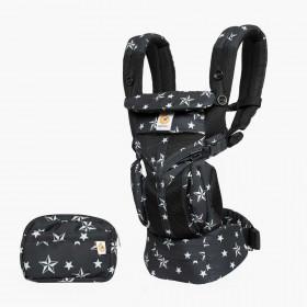 Marsupiu ergonomic,Ergobaby Omni 360 Cool Air Mesh Black Stars