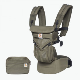 Marsupiu ergonomic, Ergobaby OMNI 360 COOL AIR MESH, KHAKI GREEN