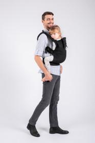 Marsupiu Ergonomic, Isara The Trendsetter, marime Toddler, Black-a-Porter