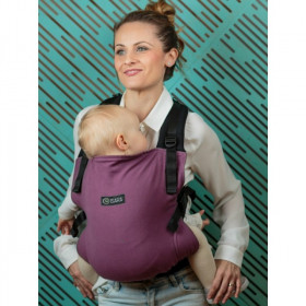 Marsupiu Ergonomic, Isara V3 Toddler, Half Wrap Conversion BURGUNDIVINE