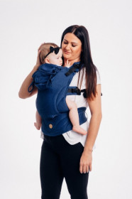 MARSUPIU ERGONOMIC,LENNYGO BABY SIZE, BASIC LINE COBALT FULL WRAP CONVERSION
