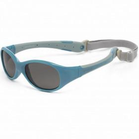 Ochelari de soare KOOLSUN, 3-6 ani - Flex - Cendre Blue Grey